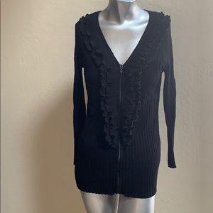 Belldini Size XL zip up sweater